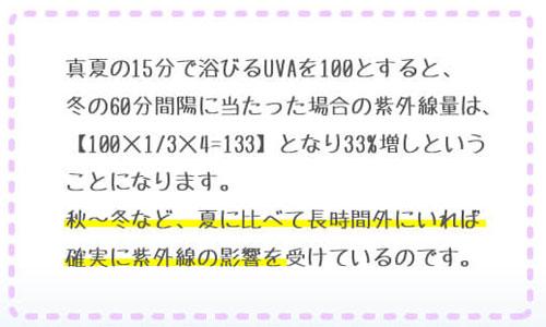 紫外線量の計算