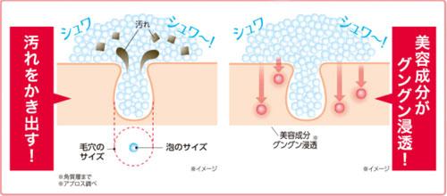 炭酸泡の働き