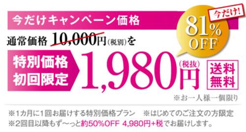 Kisshada(キスハダ)の価格