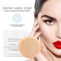 スノハダソープ(Snow Hada Soap)のパッケージ