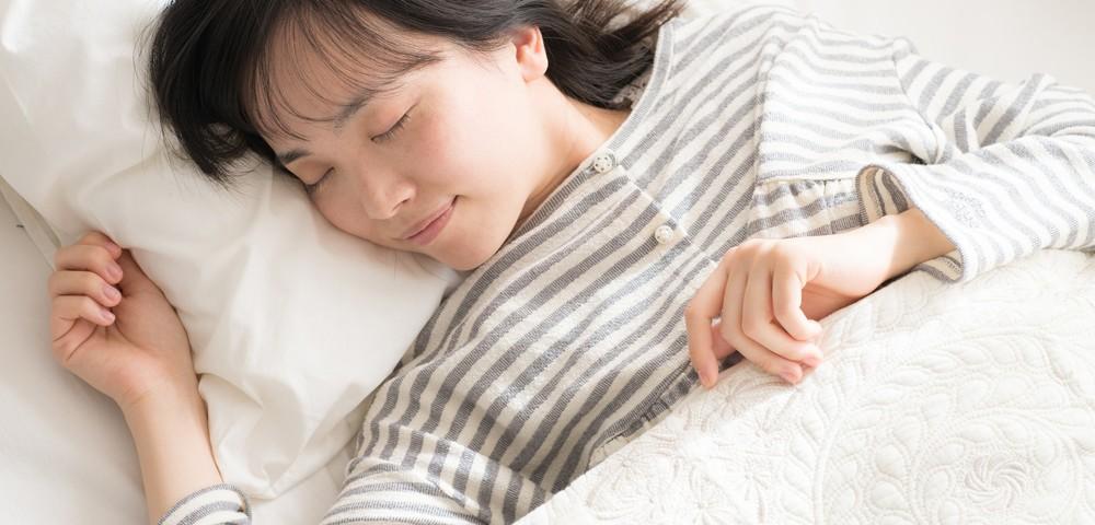 質の良い睡眠で美肌を目指す