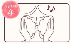 素美 天然もろみ石鹸の使い方4