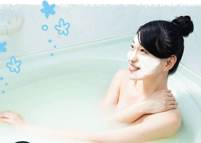 NULL WHITE(ヌルホワイト)はお風呂で使うと効果的!