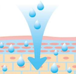 ハリハリミチルには高い保湿力がある