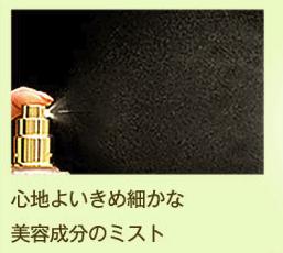 王道十和子肌のミスト状化粧水の使い心地