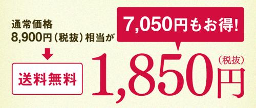 王道十和子肌スターターセットの価格