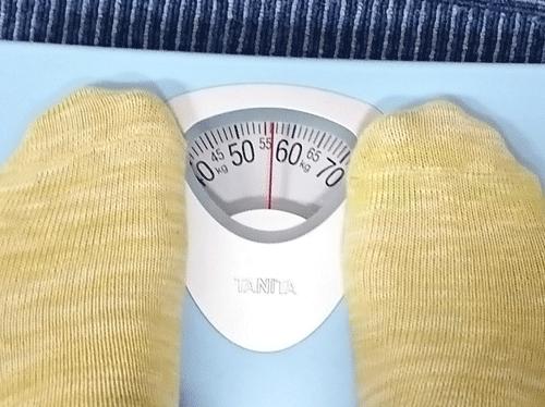 アンファットカプセルを飲んで減り始めた体重
