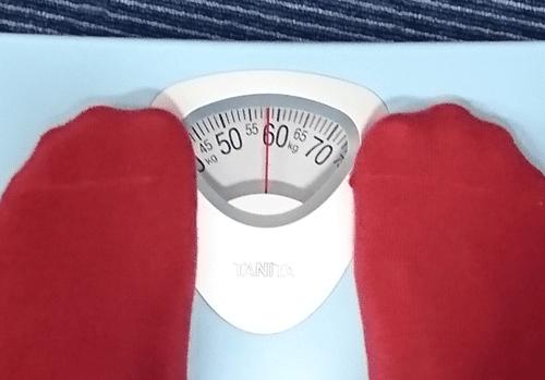 アンファットカプセルを飲んで少し減った体重