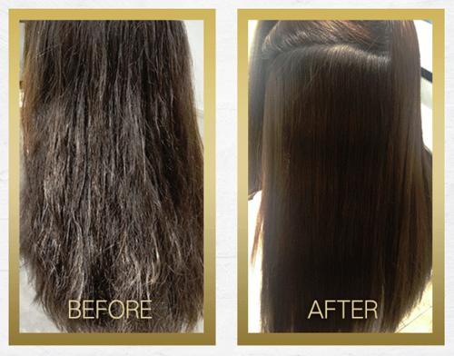ボタニカルシャンプーmeの髪質改善効果でキレイなストレートヘアに